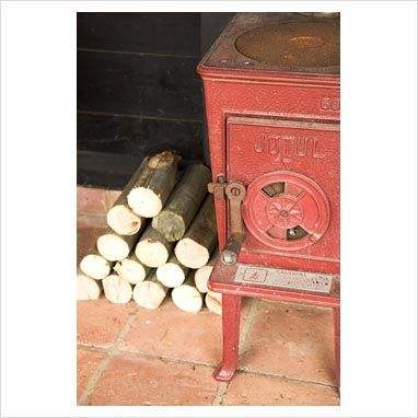 Suzie Gibbons - stove and logs