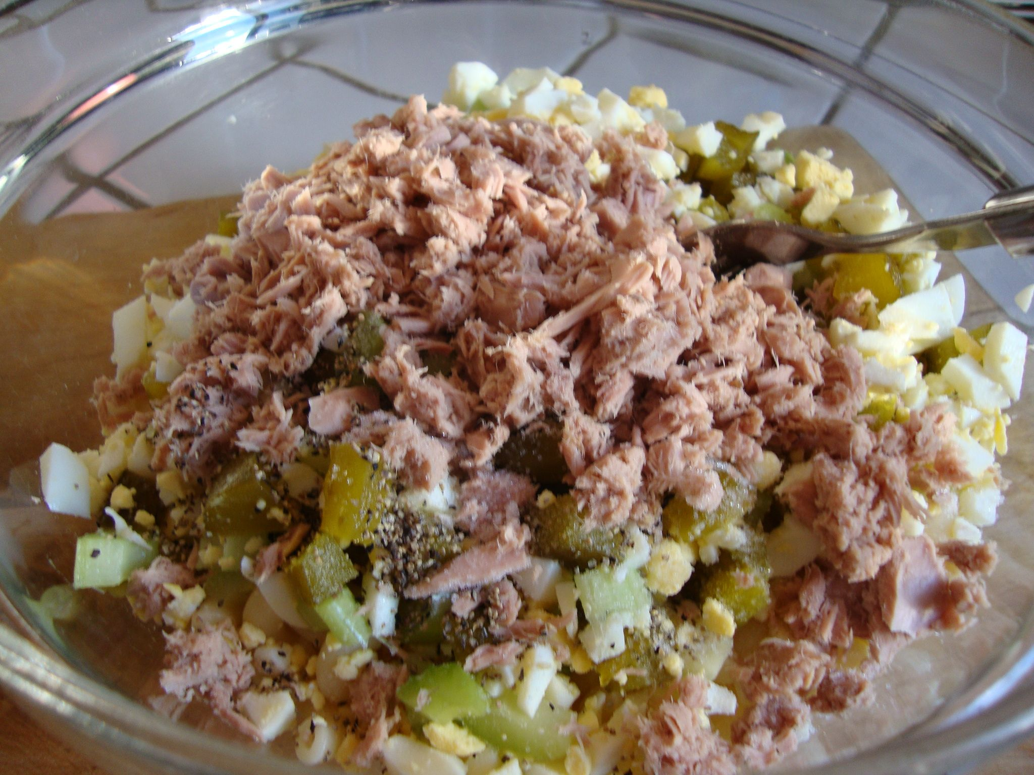 Tuna macaroni salad recipe the best tuna macaroni salad for Macaroni salad with tuna fish