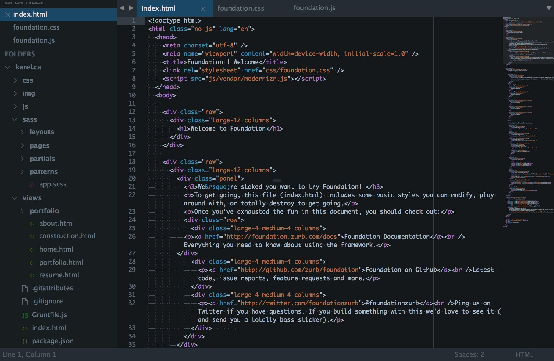 Theme Fox Packages Package Control Div layout, Web