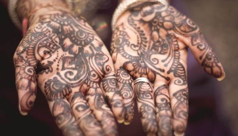 Gambar Henna Telapak Tangan Bagus Henna Mehndi Design