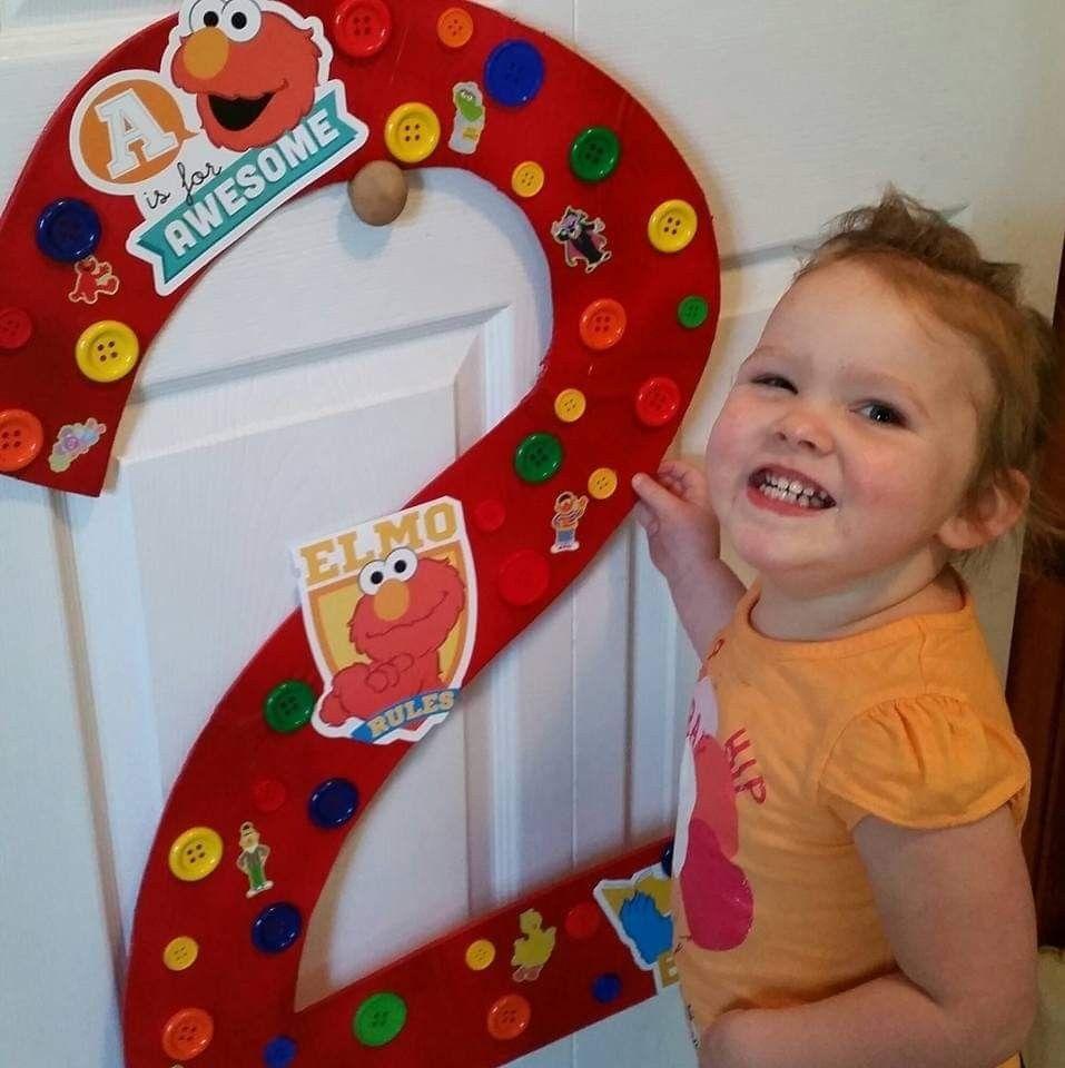 Pin By Christine Lucas On Bella's 2nd Birthday (Elmo