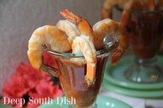 Roasted Shrimp with Homemade Cocktail Sauce #pioneerwomannachocheesecasserole