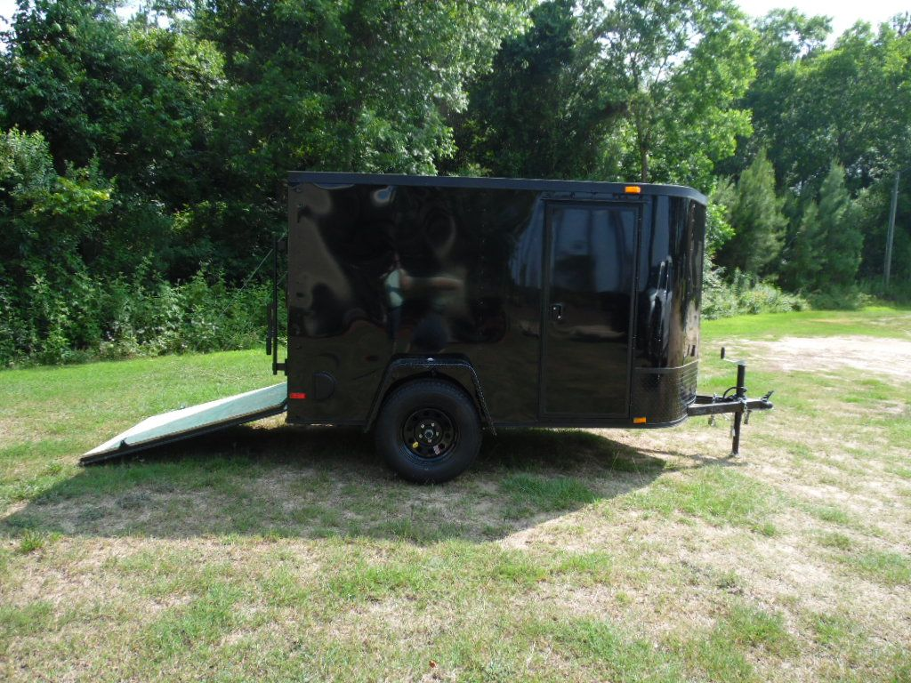 5 X 8 Blackout Enclosed Trailer Edition Nobody In The Industry Offers This Kind Of Quality In A 5x8 V No Enclosed Trailers Cargo Trailers Concession Trailer