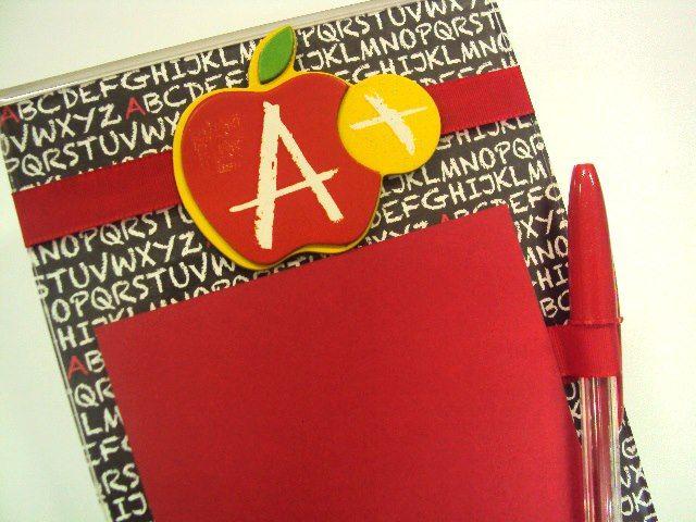 scrap decor scholl apple teacher - ideia de dia dos professores