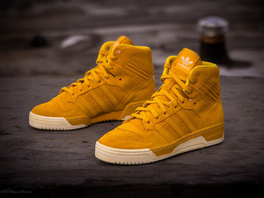Adidas Rivalry Hi Suede Pack Sole Collector Sneakers Men Fashion Custom Nike Shoes Dress Shoes Men