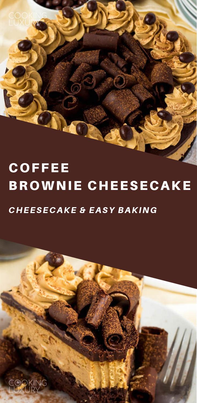 Coffee Brownie Cheesecake Recipe Cheesecake Brownies Coffee Brownies Healthy Cake Recipes