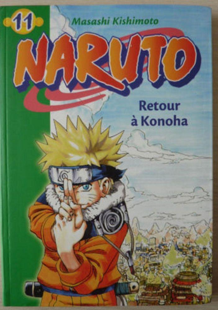 Livre Naruto Retour A Konoha Masashi Kishimoto