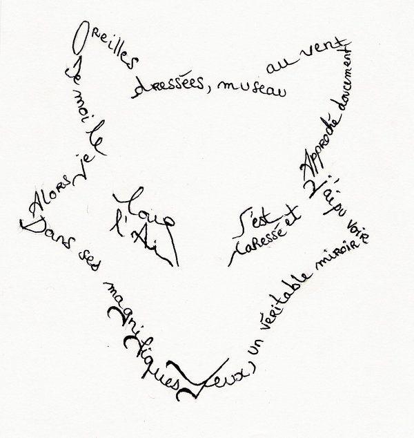 Lexique Les Calligrammes Un Calligramme Est Un Poème Dont La