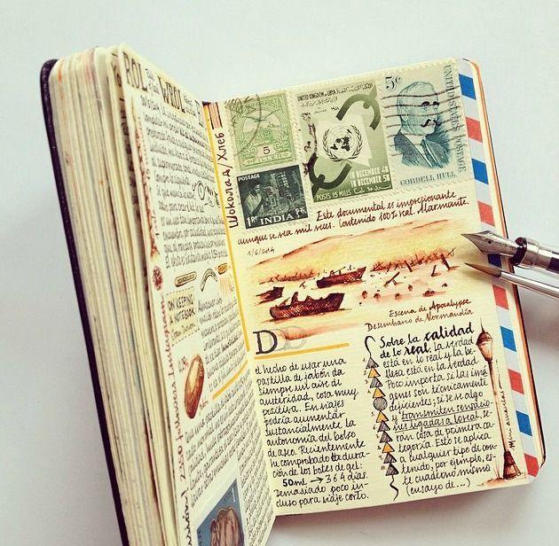 Motivationalstudents Such A Beautiful Notebook Travel ScrapbookScrapbook