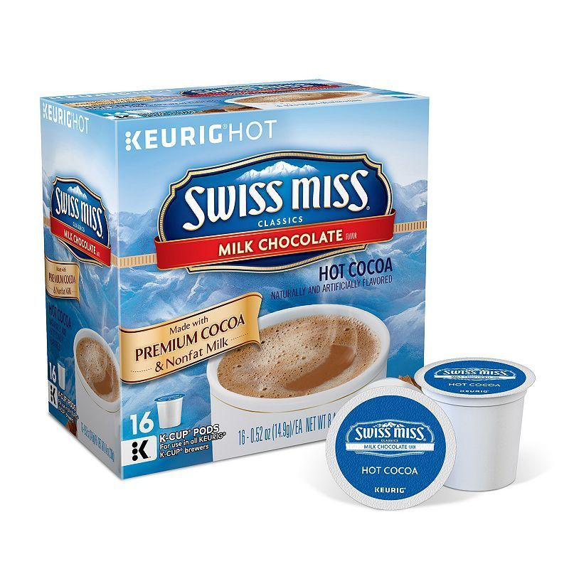 Swiss Miss Hot Cocoa, Keurig KCup Pods 16pk. Swiss