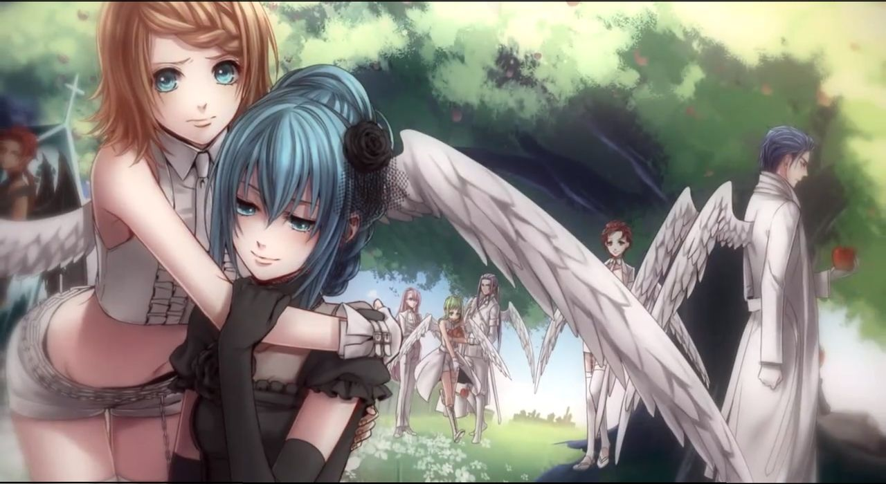 Vocaloid - Black Vow (I love this song) It\'s about an Angel Falling ...