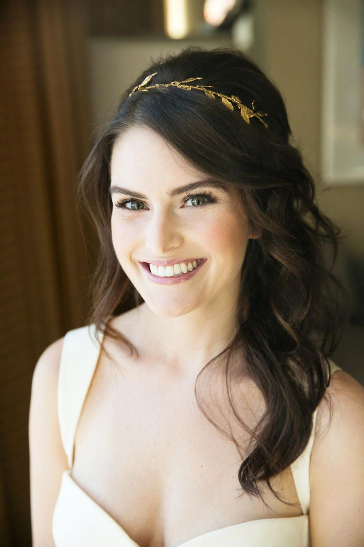 6 pretty headbands to accent your wedding day hairdo (from real