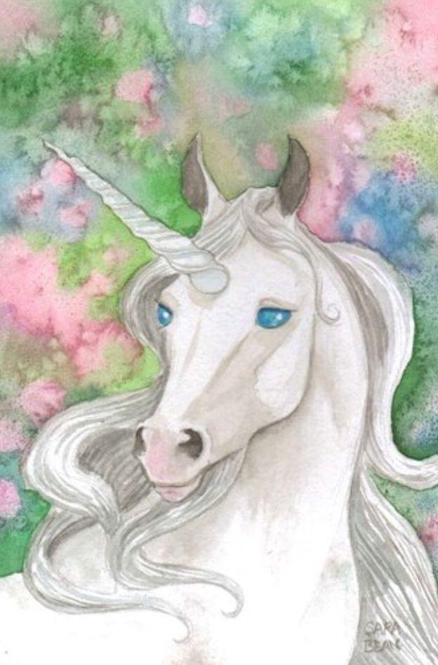 Unicorns Yes Or No Unicorn Painting Unicorn And Fairies