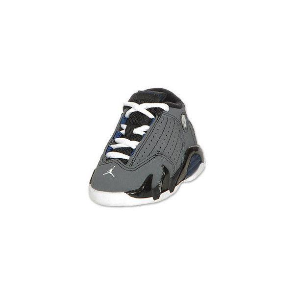 online store 4117e fb3e3 Air Jordan Toddler Retro 14 ($50) found on Polyvore ...