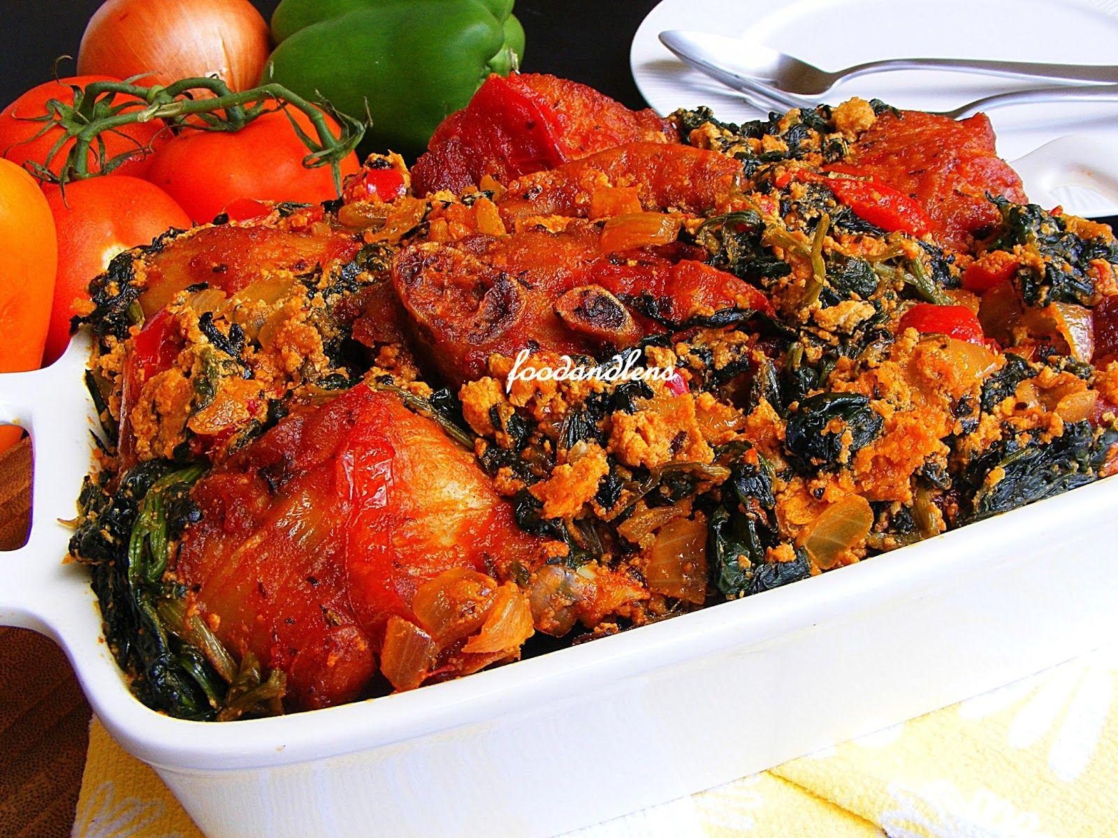 Egusi stew african food food nigerian food