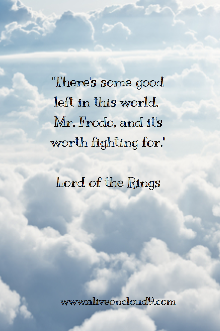 Lord Of The Rings Quotes Inspirational Motivation: Inspirational Quote From Lord Of The Rings