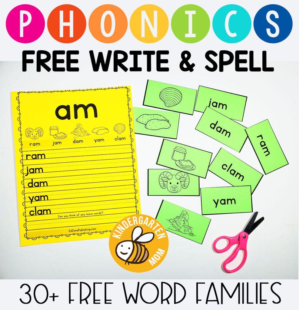 Phonics Worksheets Kindergarten Mom In 2021 Phonics Worksheets Phonics Kindergarten Phonics Worksheets [ 1024 x 987 Pixel ]