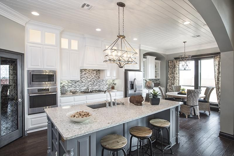 Ideal Homes Model Home Kitchen in Oklahoma City | Model ...