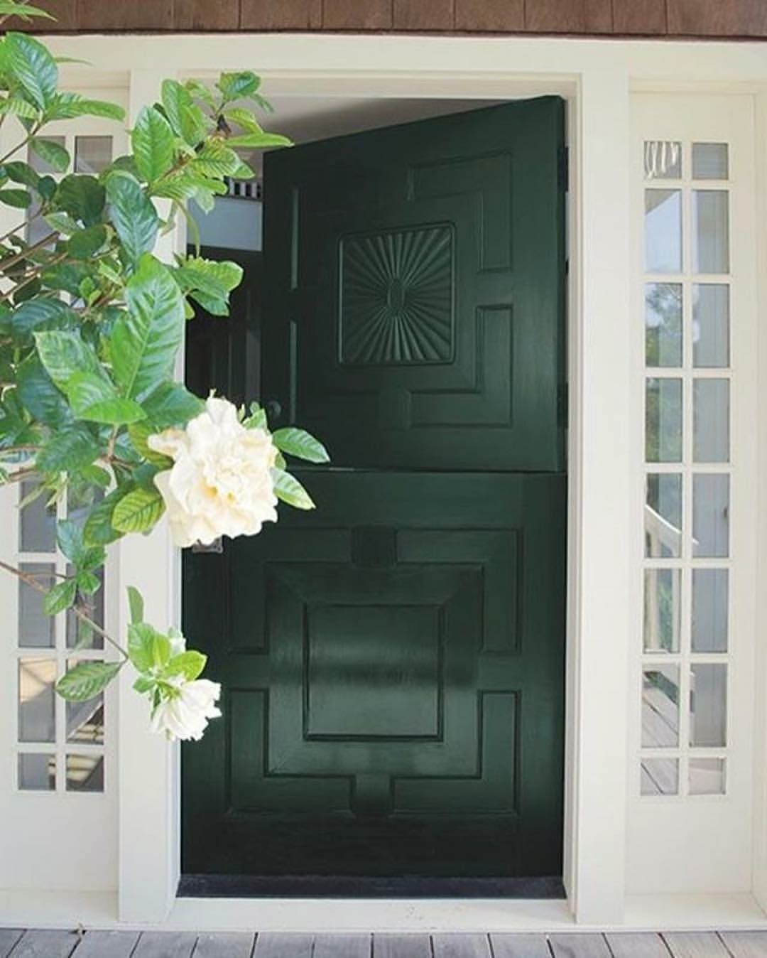 Awesome Dutch Door In Tavern Green By Benjamin Moore