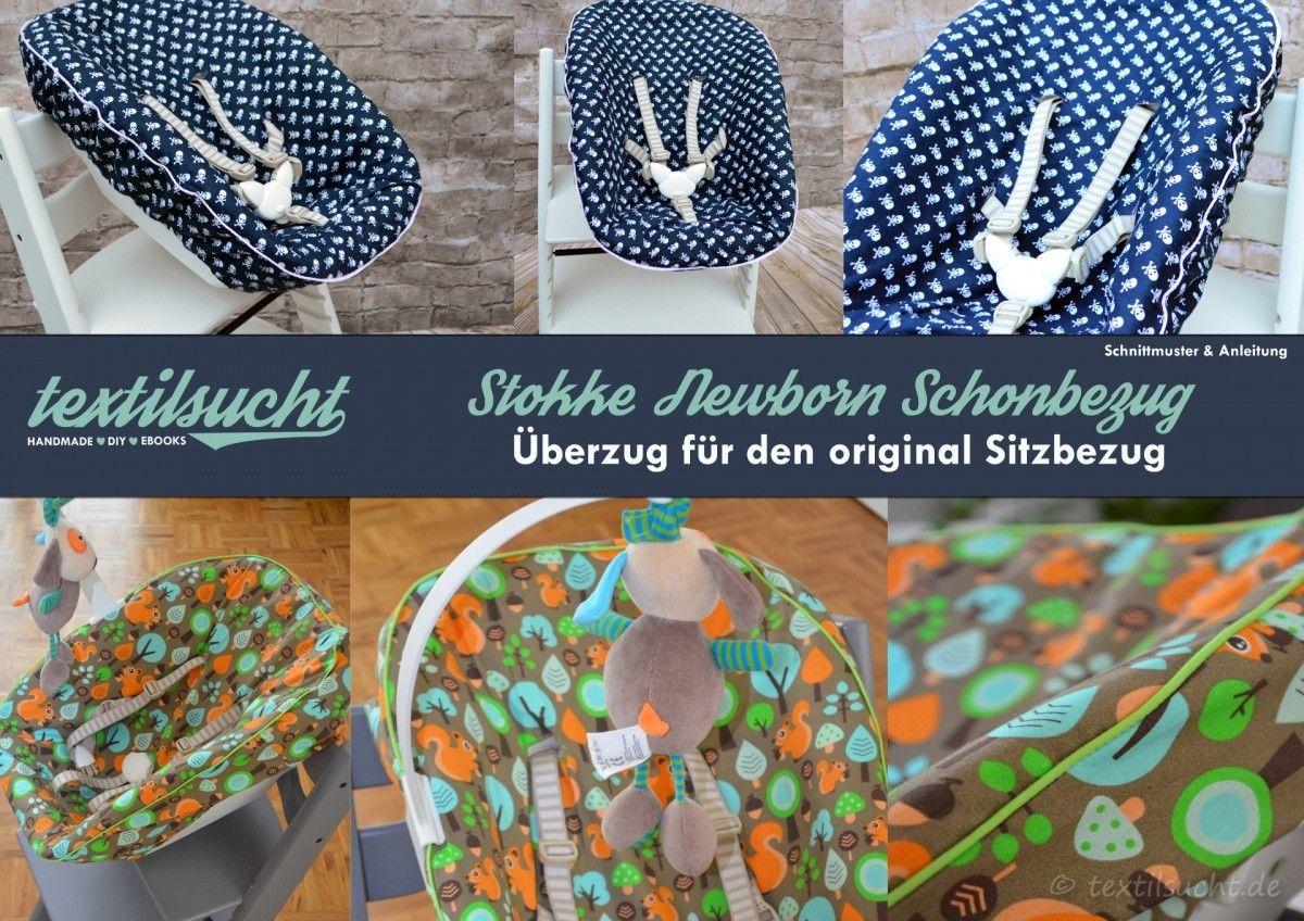 Anleitung und Schnittmuster Stokke Tripp Trapp Newborn Bezug | Baby ...
