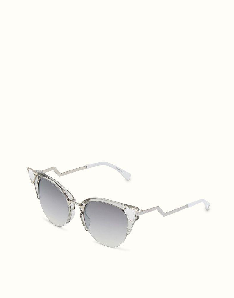 iridia palladium sunglasses - Metallic Fendi p2njqvf