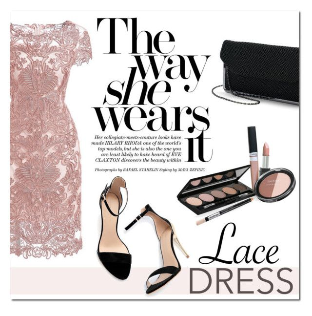 """Pretty Lace Dress"" by that-chic-girl ❤ liked on Polyvore featuring Isadora, Zara, lacedress and polyvorecontest"