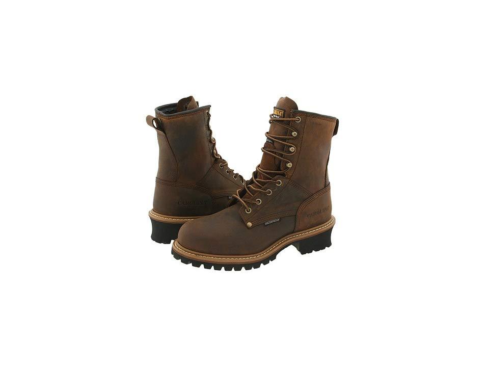 5cb1e09be73 Carolina Insulated Elm Waterproof Plain Toe Logger ST CA5821 Men's ...