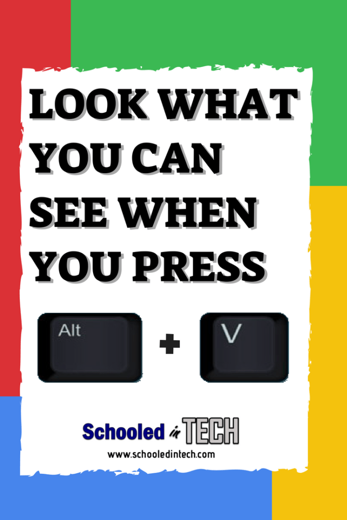 Easily Show Chromebook OS Version & More with Alt + V | Classroom