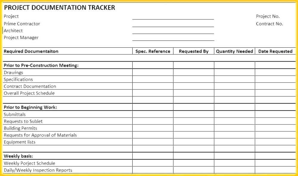 Progress Report Template For Construction Project (5