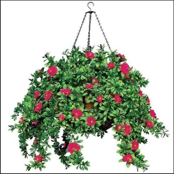 Hanging Basket With Artificial Plants And Flowers Hooks And Lattice 50 Lik Hanging Flower Baskets Artificial Hanging Baskets Artificial Plants And Flowers