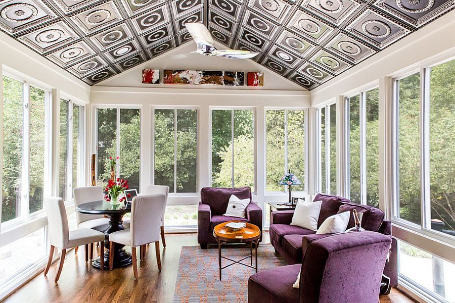 50 Contemporary Sunrooms With Charming Spaces Sunroom Designs