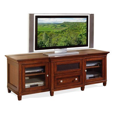 Kathy Ireland Home By Martin Home Furnishings Imbr369 Bradley Tv Console For Flat Panel Televisions Tv Stand Furniture Wooden Tv Stands Tv Cabinets