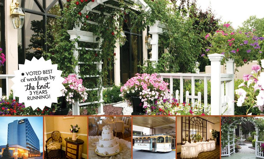 Poughkeepsie Grand Hotel The do plantings on the terrace for a