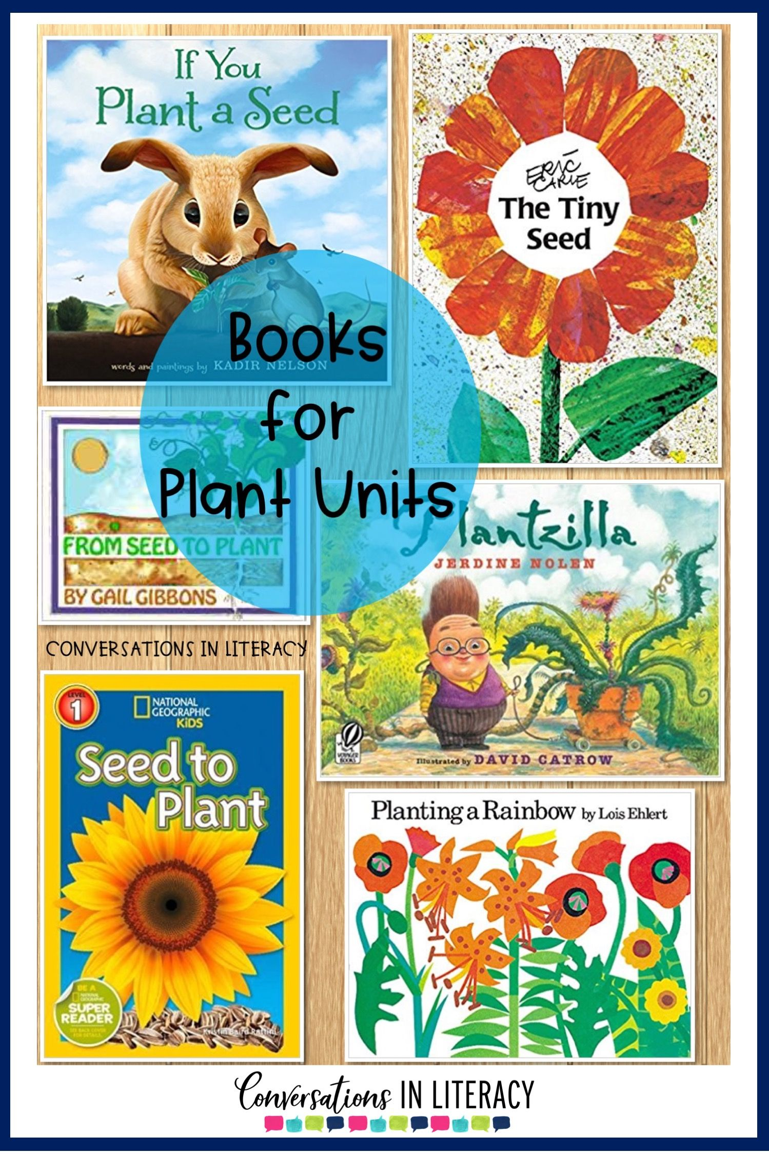 Plant Life Cycle books, Activities, projects and a FREE printable for your elementary classroom! Science writing activities and fun learning ideas for students. #flipbook #plants #scienceforkids #writingactivities #freeprintables #conversationsinliteracy #kindergarten #firstgrade #secondgrade #thirdgrade kindergarten, first grade, second grade, third grade #plantlife