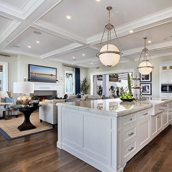 30 Awesome Kitchen Lighting Ideas Kitchen Design Layout Island California Beach House Interior Design Kitchen
