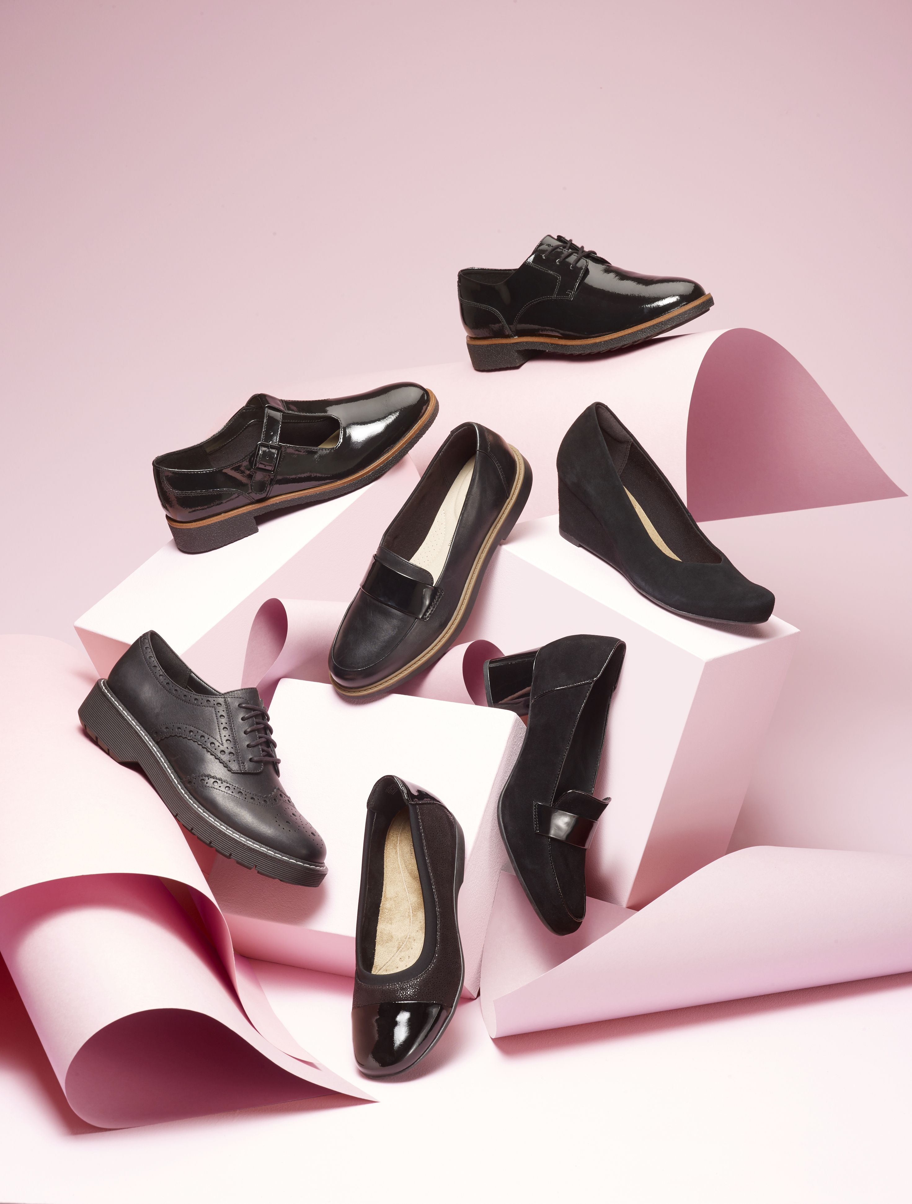 Clarks footwear still life photography for Next. | Footwear