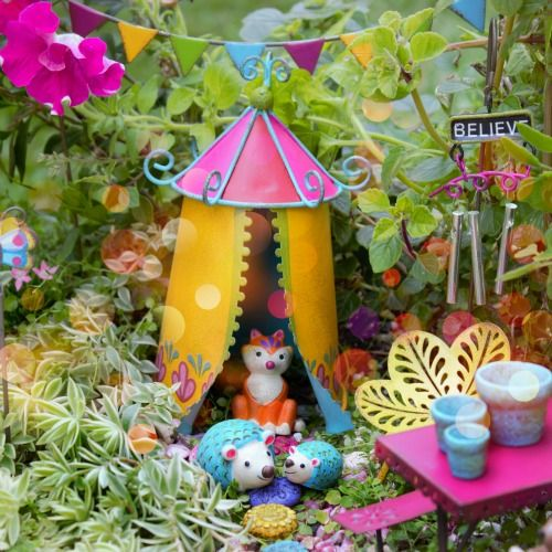 Fairy TentMiniature Fairy TentFairy Garden Shop Fairy Garden