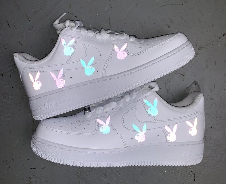 Reflective Butterfly Air Force 1 in 2020 | Aesthetic shoes