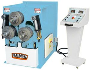 Baileigh Rh85 Pyramid Roll Bending Machine For Large
