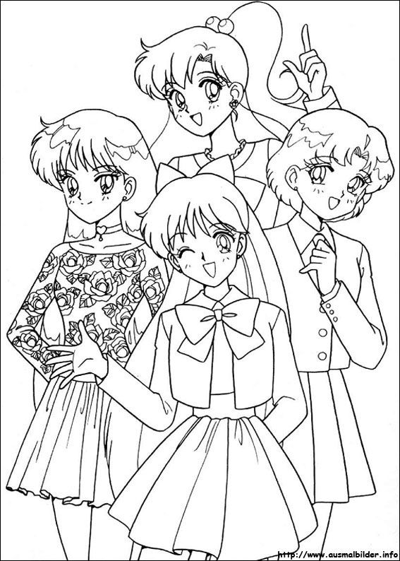 Sailor Moon Malvorlagen Sailor Moon Coloring Pages Sailor Moon