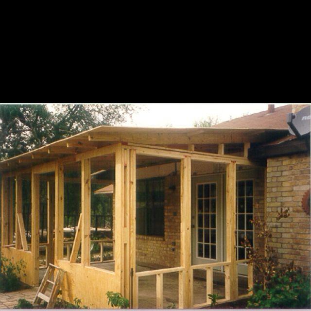 Creative Screened Porch Design Ideas: Screened In Porch Plans, Screened