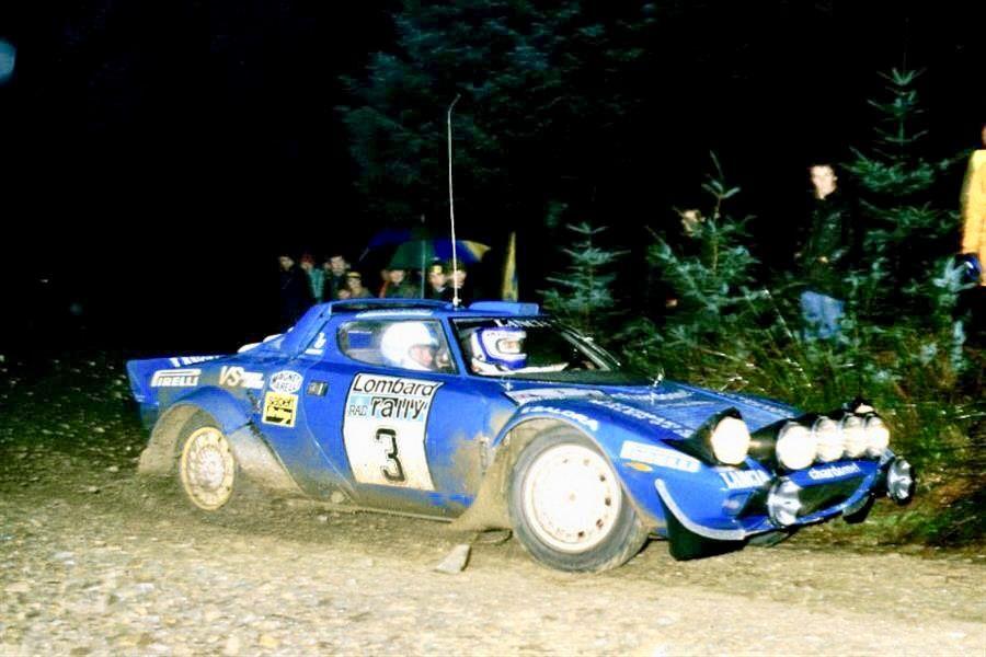 Lancia Stratos Alen Rac 81
