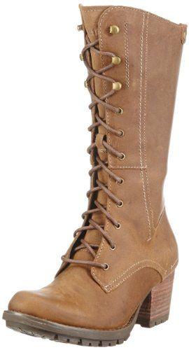44486802736e9 Caterpillar Boots Mae Dark Beige: Amazon.co.uk: Shoes & Bags ...