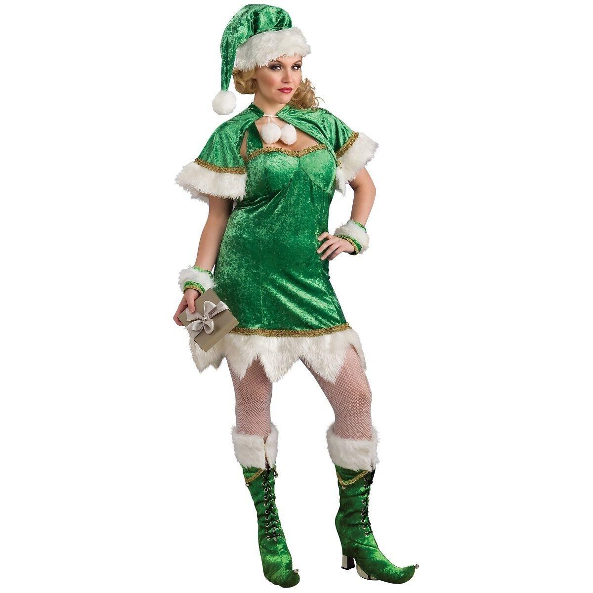Adults Ladies Mens Red White Striped Festive Elf Christmas Fancy Dress Socks
