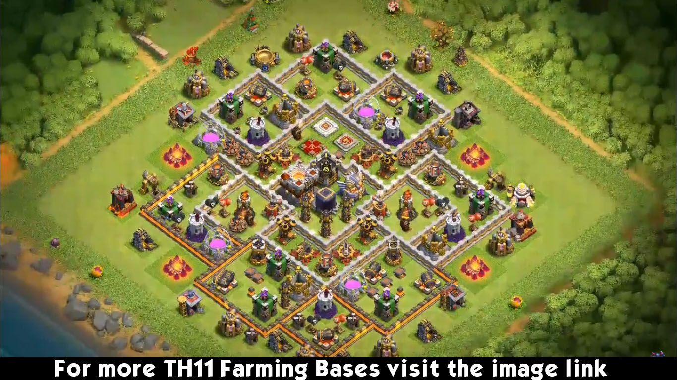 16 Best TH11 Farming Base Links 2020 & Dark Elixir