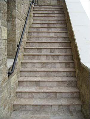 Covering Concrete Steps   Concrete Steps Overlays