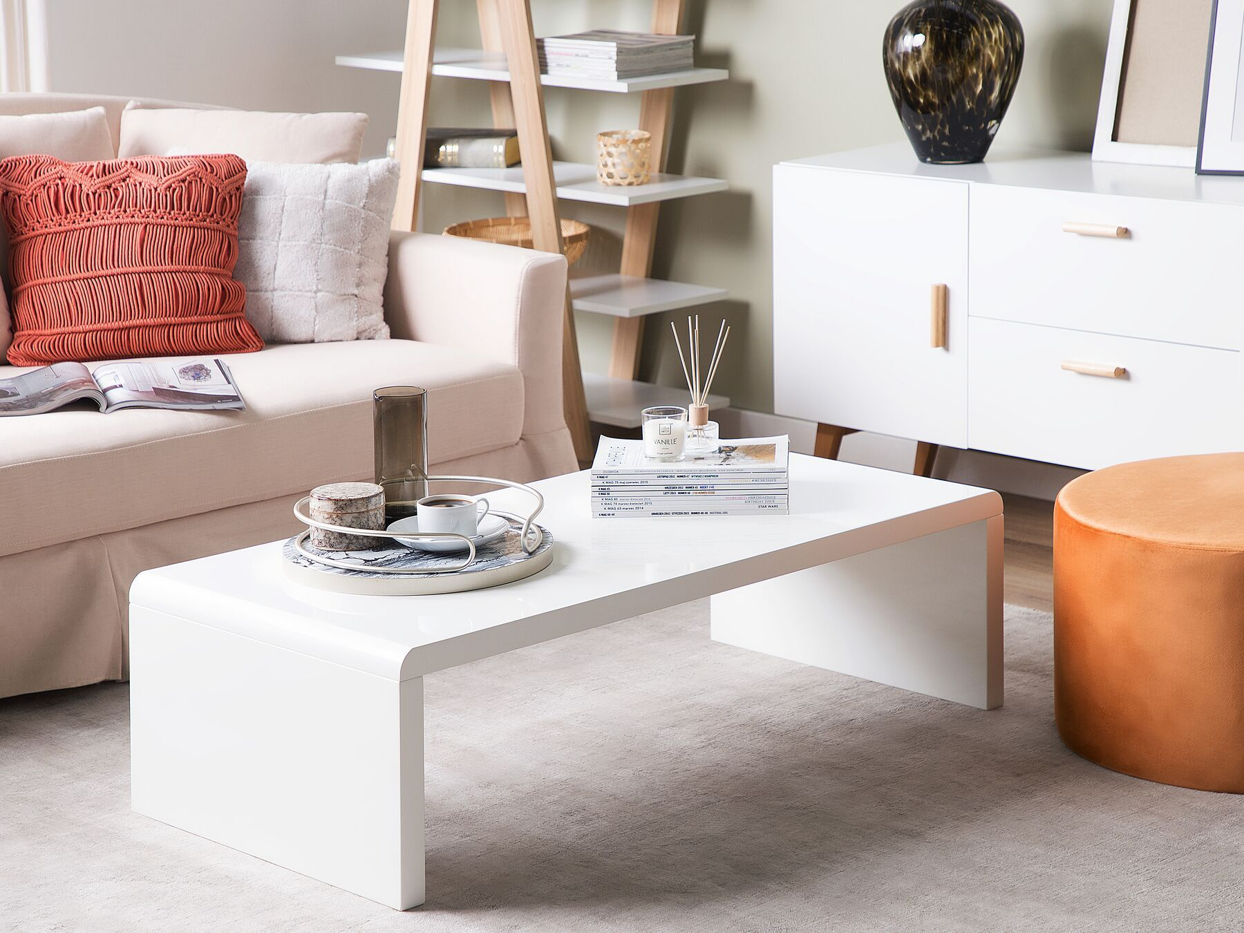 Coffee Table White Milwaukee In 2020 Coffee Table Living Room Furniture Collections Coffee Table White