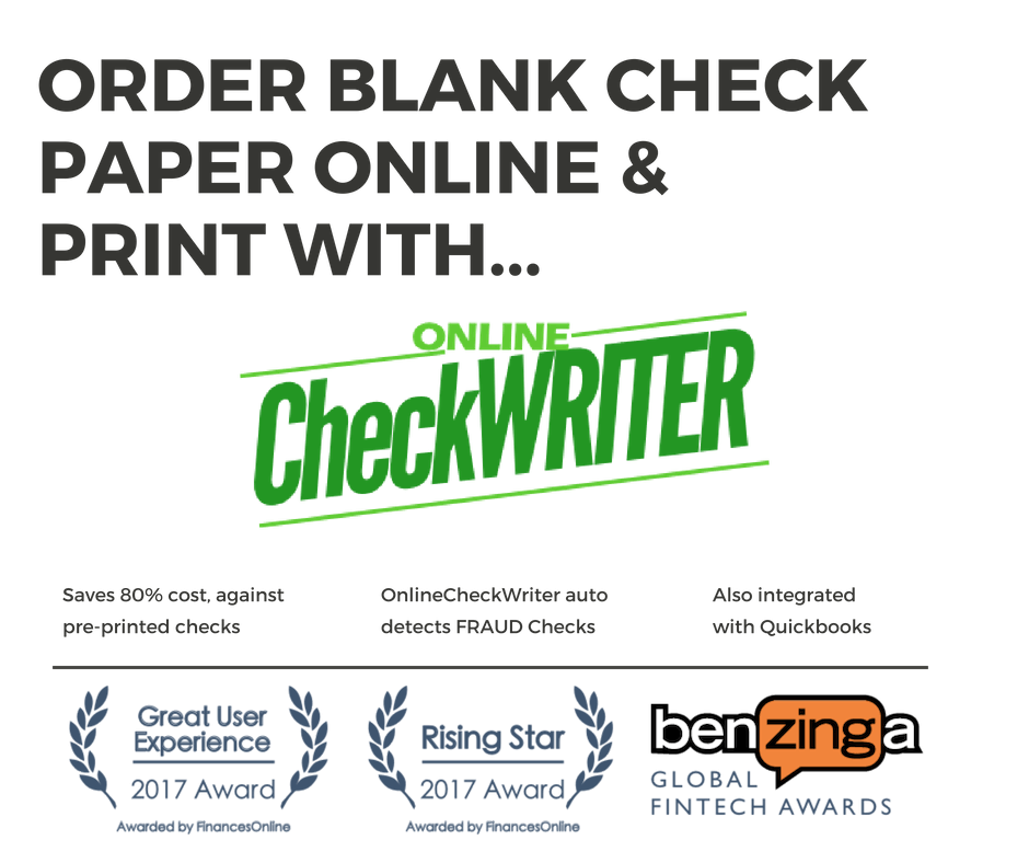 Blank Check Printing Software Online Check Writer Blank Check Online Online Checks Order Checks Online Blank Check