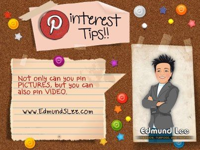 Are you currently pinning video onto your #Pinterest boards? #pinteresttip