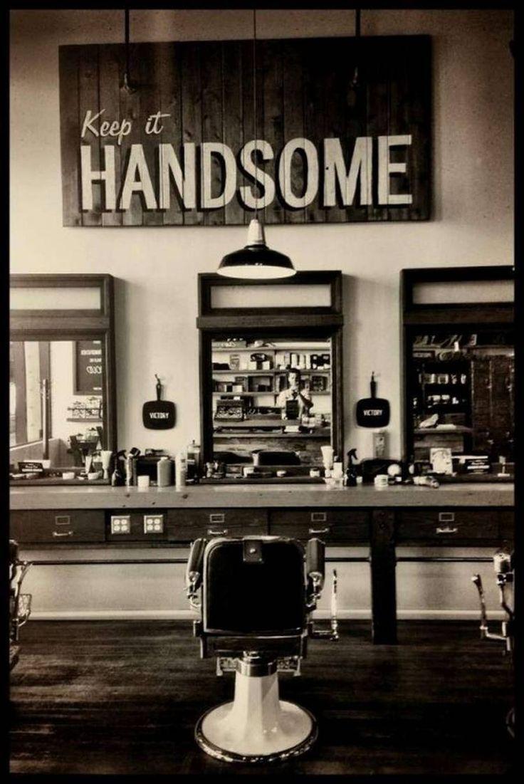 Daily Man Up 27 Photos Suburban Men Barber Shop Decor Barber Shop Barbershop Design